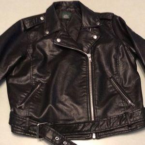 Faux Leather Jacket 🏍🕶🖤